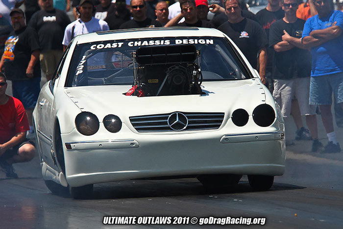 Coast Chassis Fabrication Supercharged Outlaw 10 5 2006 Mercedes